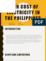 ELECTRICITY CONSUMPTION IN THE PHILIPPINES