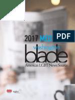 Washington Blade 2017 Media Kit