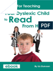 Guide to Teaching Reading eBook Dyslexia Daily