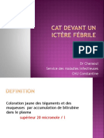 Infectieux4an Cat Devant Ictere-febrile