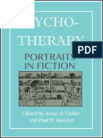 Psychotherapy Portraits in Fiction