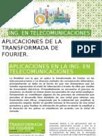 Aplicaciones de La Transformada de Fourier