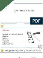 Lenguaje Formal y Automatas Finitos