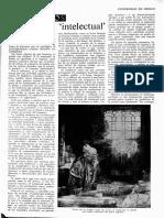 El vocablo 'intelectual' de Pierre Fougeyrollas