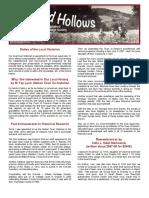 ENHS Newsletter Jan. 2017, Vol. 1, No. 1