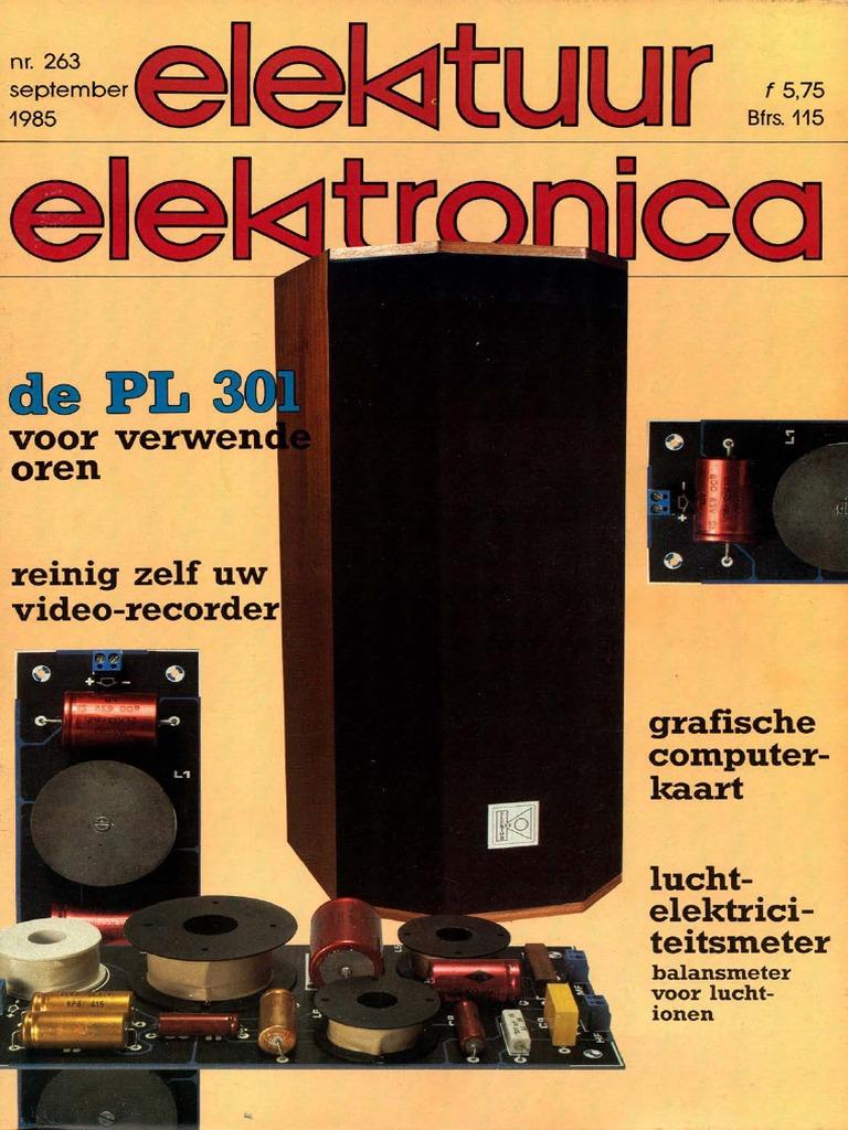 Elektuur 263 1985 9 Home Radio Bly94 100w Rf Power Amplifier