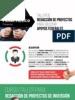 Folleto Taller de redaccion de proyectos comprimido.pdf