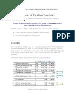 Resumao Custos e Financeira