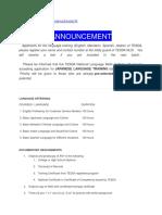 Tesda and Civil Service Information