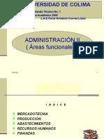 ADMINISTRACIÓN II ( ABASTECIMIENTOS )