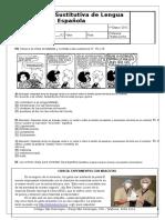 28566 Evaluacin de Lengua Espaola
