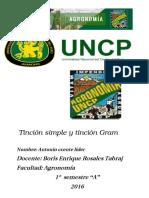 Bibliografia de Tinción Simple y Tinción Gram