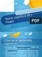 Teoria Cognitiva de Piaget