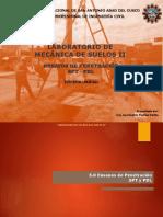 Suelos II- Clase N_ 06 Ensayo SPT - PDL