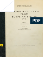 British Museum-Hieroglyphic texts from Egyptian Stelae-1-1961.pdf.pdf