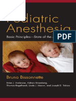 2011 Pediatric Anesthesia_Bissonnette