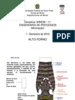 Engenharia de Processos - Siderurgia - Alto Forno