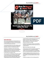 Muay Thai PROS 10 Keys to Success