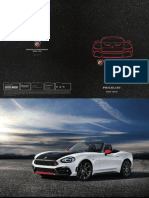 Abarth 124 Spider Price List