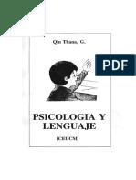 3 Psicología y Lenguaje