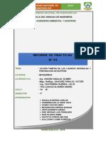 Informe 003 de Bioquimica