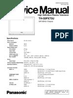 50PX75U Service manual