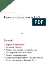 T5-Puentes Conmutadores LAN