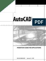AutoCAD 2000 Migration Guide