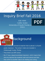 snider fall 2016 inquiry brief adhd