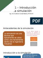 Tema 1 – Introducción a La Simulación