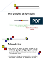 Minicientifico en Formacion