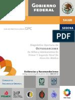Osteosarcoma niños y adolescentes