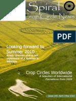 The spiral crop circle news
