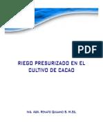 Charla de Riego Para Cacao 2016