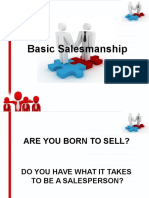 Basic Salesmanship