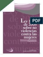 Colombia Ley 1257 de 2008 Sobre No Violencias Contra Las Mujeres