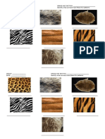 Animal Skins (Seatwork)