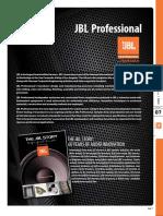 JBL Pro Catalog 2013