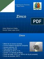 Engenharia de Processos - Zinco