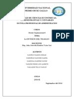 09 LA DIVISION DEL TRABAJO Especializacion Vertical y Horizaontal