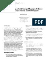 3D Geo Modelling_Arcscene