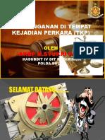 """PENANGANAN DI TEMPAT KEJADIAN PERKARA (TKP)"""""""