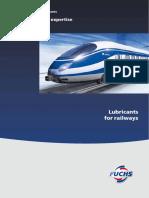 Lubricants for Railways