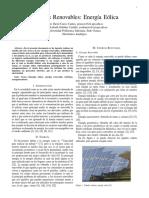 Energias Renovables Energia Eolica