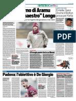 TuttoSport 16-01-2016 - Calcio Lega Pro