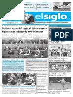 Edición Impresa El Siglo 16-01-2017