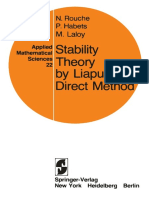 Stability Theory of Lyapunov