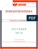Insights Into Editorial Oct