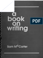 1mccarter Sam on Writing