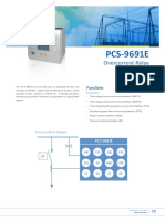 Flyer - PCS-9691E Overcurrent Relay